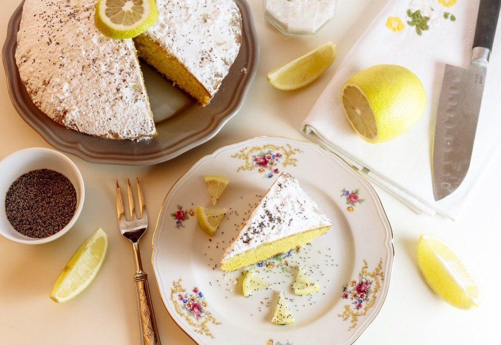 Torta al limone con yogurt