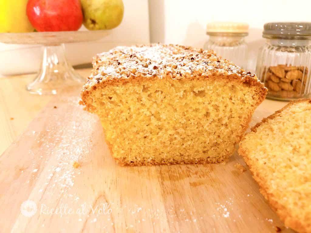 Torta plumcake con farina di mais