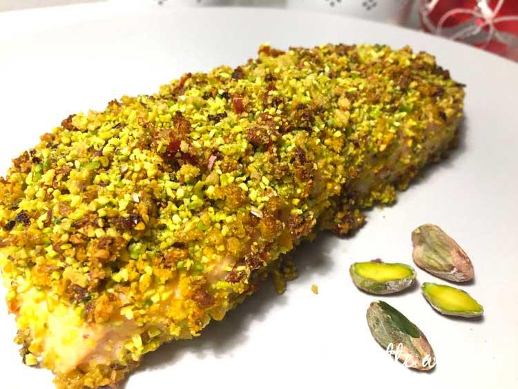 Ricetta Salmone Con Pistacchi.Filetti Di Salmone Al Forno In Crosta Di Pistacchi Ricette Al Volo