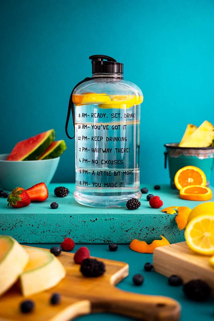 Acqua aromatizzata fatta in casa