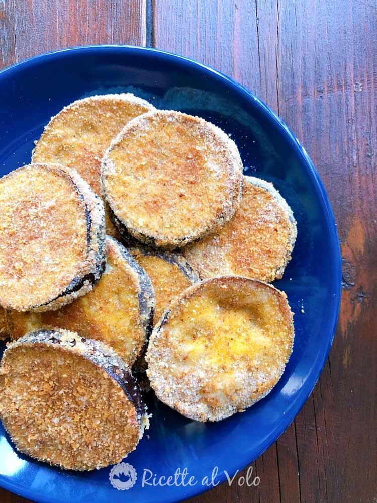 Cotolette di melanzane al forno