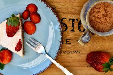 Crostata al mascarpone e fragole senza cottura