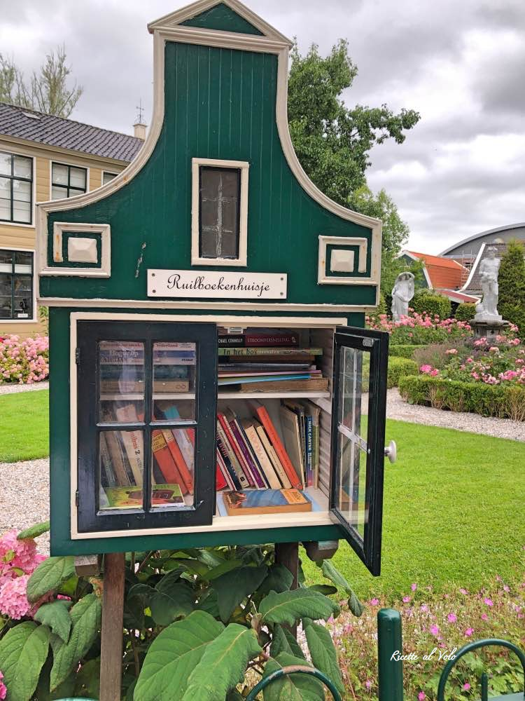 ruilboekenhuisje -libri - amsterdam