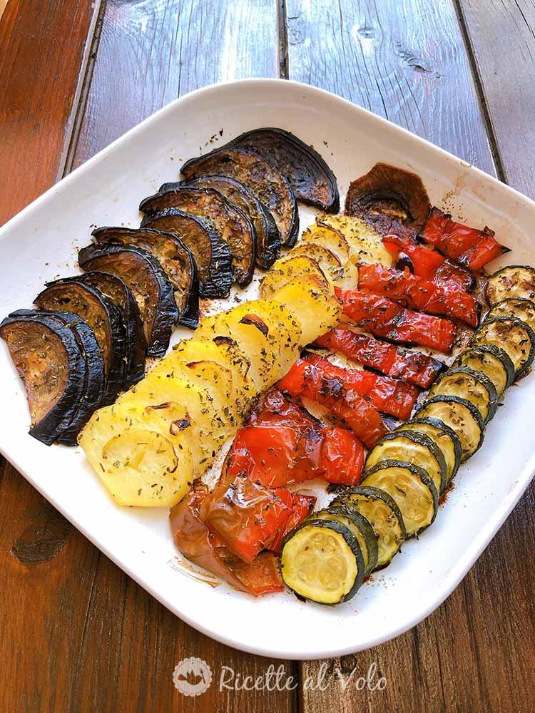 Ratatouille alle 4 verdure