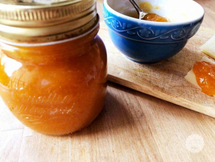 Marmellata invernale di zucca, arancia e zenzero