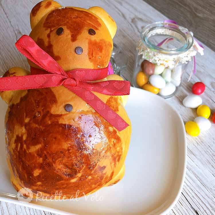 Orsetto di pan brioche